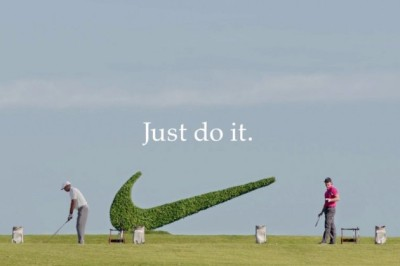 No Cup is safe. Rory Mcllroy & Tiger Woods in new Nike Ad by Wieden + Kennedy