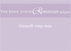 youknowyoureromanianwhen:  Submitted by red-on-her-lips.