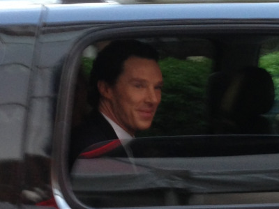 "sedatedsoul:  libbymae:  I found myself in close proximity to Benedict Cumberbatch on Thursday. I asked him when Sherlock season 3 was coming out. ""Soooon."" ""Before I die?"" He laughed.  HE LAUGHED"