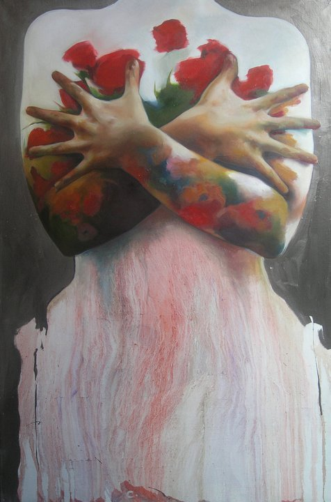 Caroline Westerhout (Netherlands) - Bride, 2009     Paintings: Oil on Canvashttp://www.indiesart.com/image/10757-bride