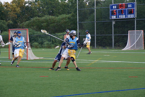 Offensive MVP 2012 Ken Leahy works a defender