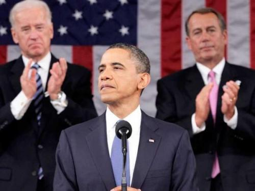 State of the Union: Obama Vows to Step Up on Climate Change if Congress Doesn't Having mentioned climate change in his inaugural address, President Barack Obama devoted a brief section to the crisis in his State of the Union message on February 12. Though cloaked in talk of energy independence, it did put the issue of Mother Earth's changing climate squarely on the shoulders of Congress and the presidency.