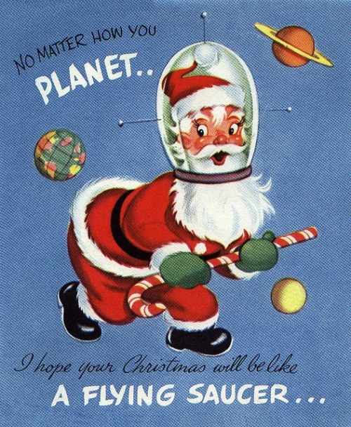 retrogasm:  Spaceman Claus