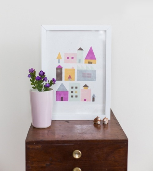 DIY geometric art wi http://bit.ly/14gjL7m