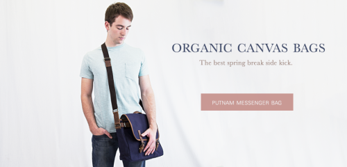 Putnam Messenger Bag (Moss, $88) | United By Blue