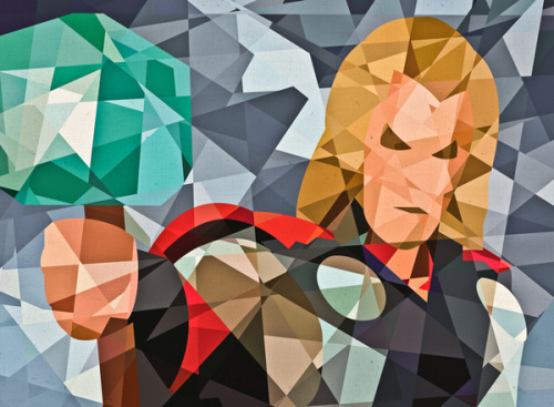Eric DufresneProject Marvel: illustrations representing some of Marvel's most popular characters.