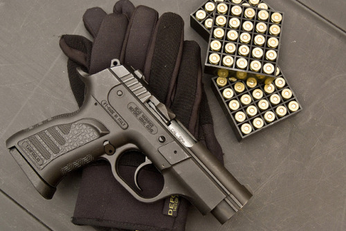 militaryandweapons:  Tanfoglio INNA 9 mm (Italy) by DIMITRY FOMIN on Flickr.