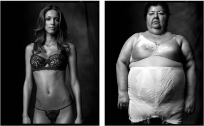 "Created Equal by Mark Laita A collection of contrasting diptychs to ""…remind us that we were all equal, until our environment, circumstances, or fate molded and weathered us into whom we have become."""