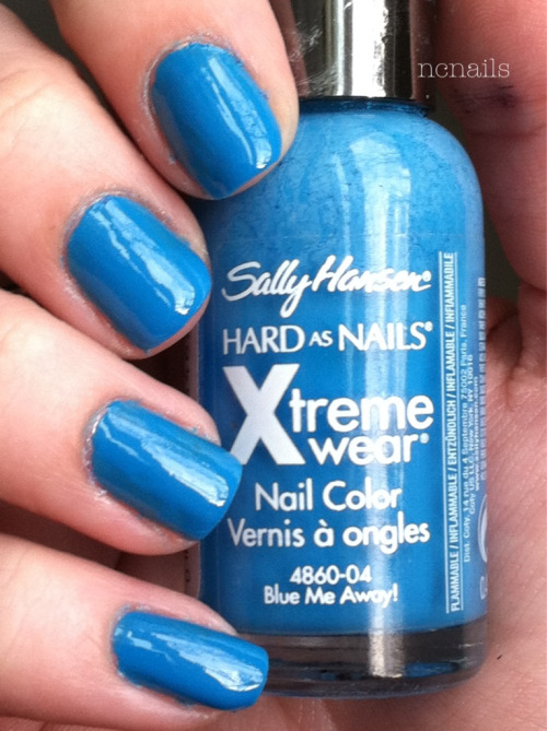Blue Me Away!- Sally Hansen Xtreme Wear