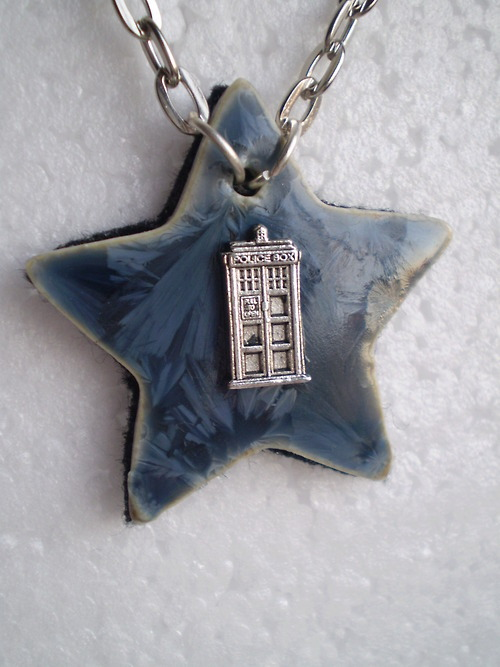 Travelling the Stars - Doctor Who Necklace Available on Etsy(click picture)