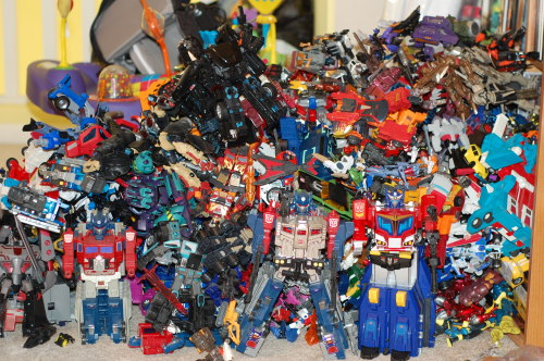 A tidal wave of Transformers!  I miss the good old days sometimes.