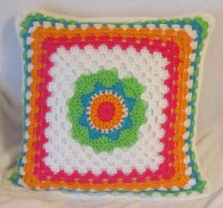 Brightly Colored Pillow Sham/Cover from designsbydewaltz via (copious)