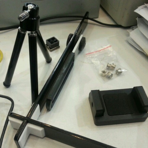 #diy Photo sphere tripod for mobile phone slowly taking shape… #photography #Photosphere  #tinyplanet #miniplanet #tripod