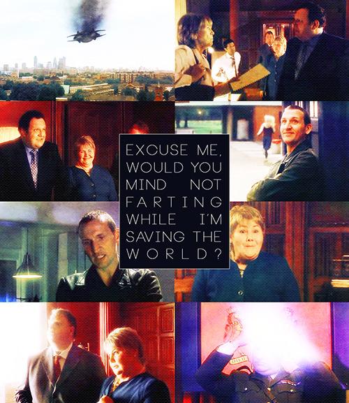 Picspam per episode01x04 - Aliens of London