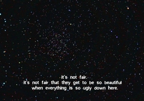 the-girlwith-the-brokensmile:  it's not fair by i'm just blue on Flickr.