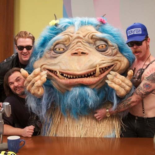 The Gorburger Show: Behind the Scenes Josh Homme and Jesse Hughes from Eagles of Death Metal hanging out with Jack Black and Gorburger!