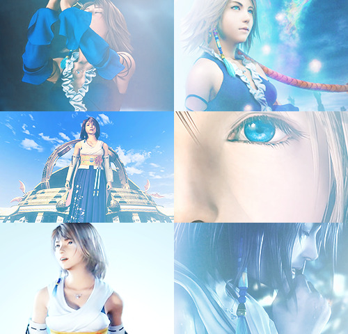 sunlethscape:  color meme - Yuna + Blue