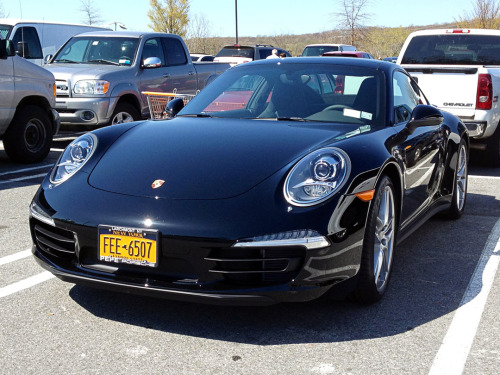 Also at Home Depot, this beautiful Basalt Black Metallic Porsche 991 Carrera 4S. One of about a dozen 991's spotted on the road in the past week or so. It really is a stunning car.