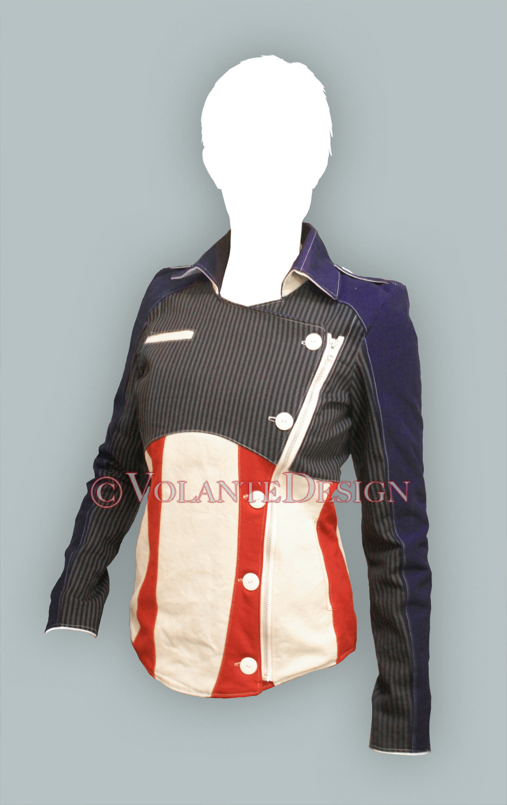 Captain America jacket. The jacket is fully lined, made to measurement, and has three pockets—1 inside, 2 outside. The full price is $395. Orders are currently closed. Follow me here or at my store, for updates.