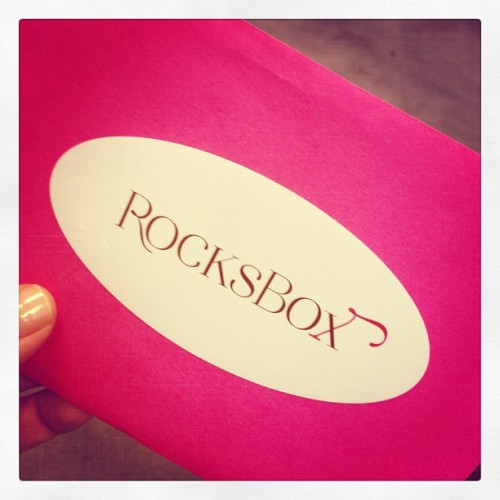 Looking forward to finally trying @rocksbox