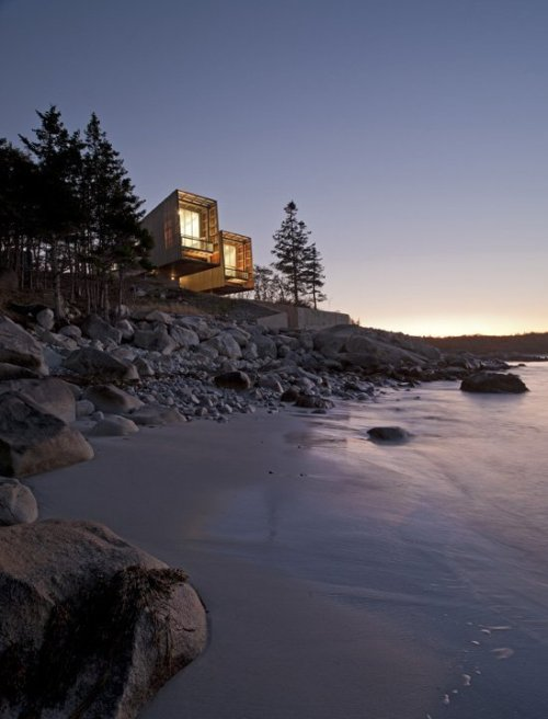 arkitekcher:  Two Hulls House | MacKay-Lyons Sweetapple Architects Location: Nova Scotia, Canada.