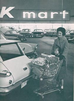 indypendenthistory:  The first Kmart department store opens in Garden City, Michigan in 1962