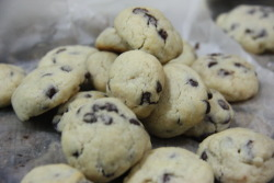 Mini chocolate chips cookies