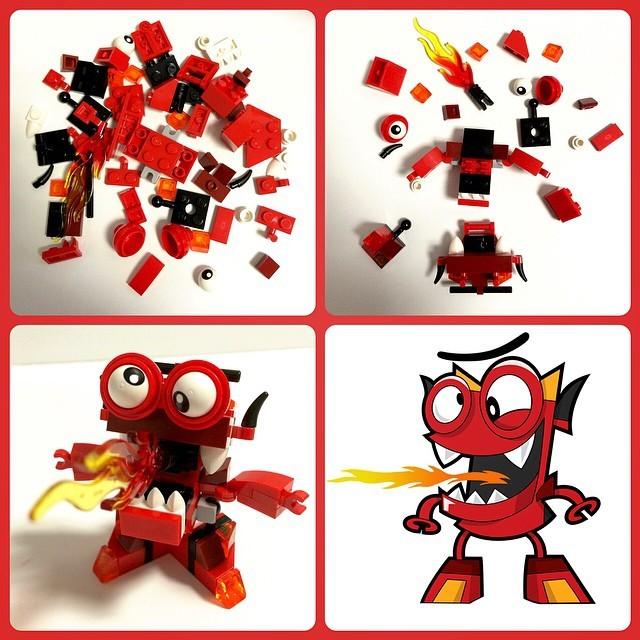 lego meet the mixels