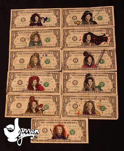 disfordarren:  So I wasted 11 dollars to turn George Washington into the Disney Princesses…