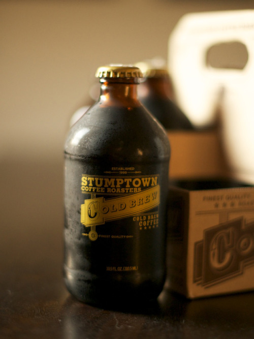 suedetaxi:  Stumptown Coffee Roasters Cold Brew