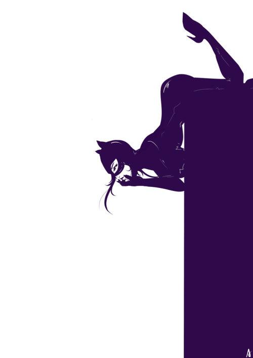 Catwoman by Kuroshi