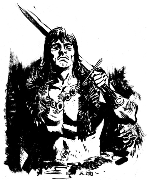 I got excited about the Conan gig I have coming up so I drew this quickie.