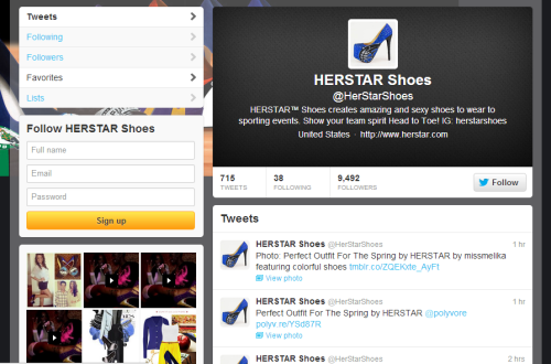 STAY UPDATED WITH WHAT'S NEW WITH HERSTAR & FOLLOW US ON TWITTER!