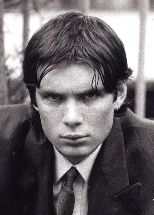 ohfuckyeahcillianmurphy:  This photo is in reply to an Anon who asked about Cillian's ear piercings. She's got a bet with a friend that it's 2 piercings and not just one plus a mole. This close up from the 1996 theatre production of Disco Pigs shows two piercings. You won! And can we talk about that mullet? :D A few more photos from the Corcardorca production of Disco Pigs on Flickr (X) and at /disco_pigs_t tag on the blog.