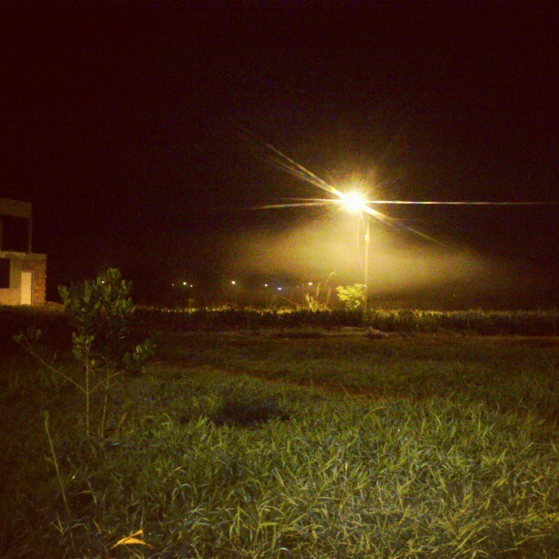 #Mist, Moruga 2AM  #fog #South #Trinidad
