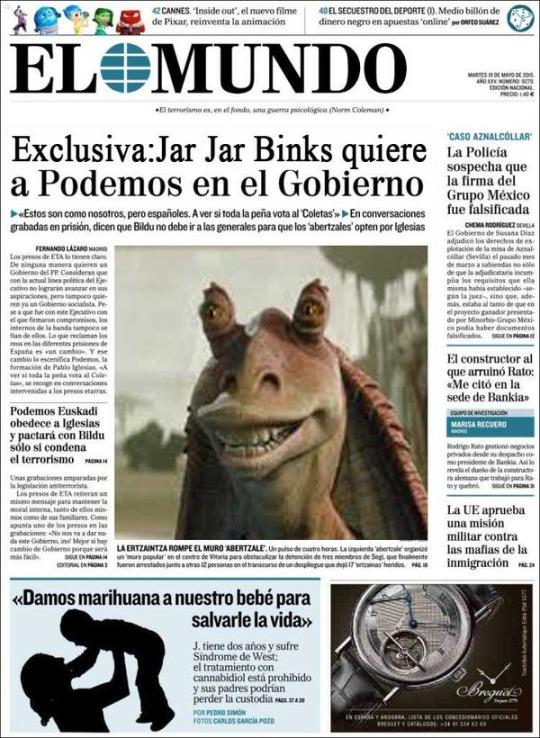 Fotomontaje portada El Mundo 4