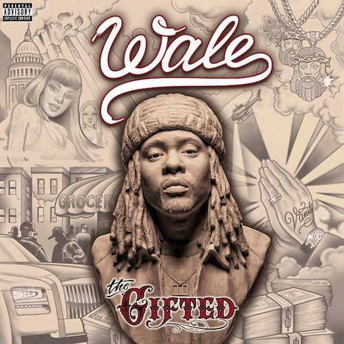Wale unveils the official artwork for his upcoming studio album 'The Gifted'. Look out for a new record called 'Love Hate Thing' dropping soon. The LP hits stores on June 25th.
