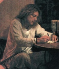 ..and it makes me wonder…(what he was writing here) (ozonebabys-temple)