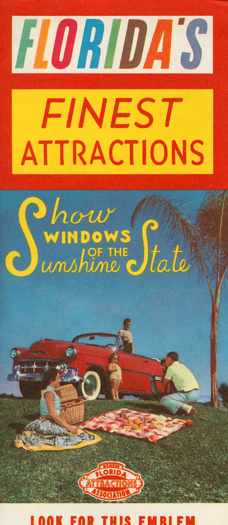 "newhousebooks:  ""Show windows of the Sunshine State"" c.1957"