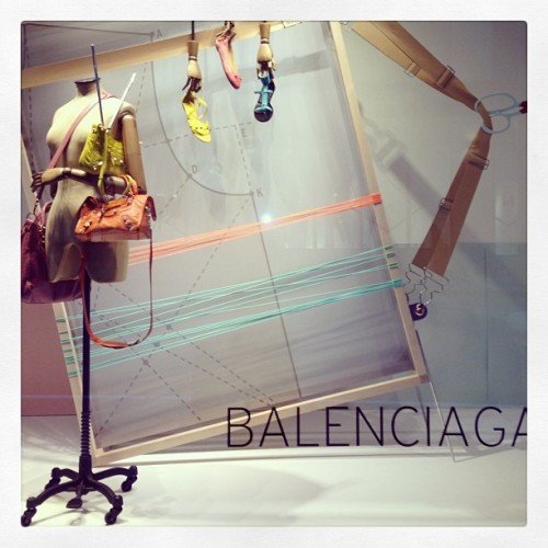 Choose your color of @_Balenciaga. @nordstrom #visual #Balenciaga #designer #ss13 #spring13 #instafashion #fashion #shoes #nordstrom  (at @NordstromSEA)
