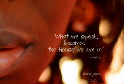 "sabriyasimonphotography:  ""What we speak…"""