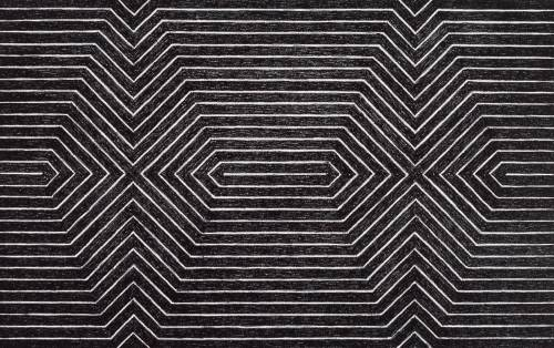 electric-wish:  Frank Stella, Turkish Mambo from Black Series II, 1967.