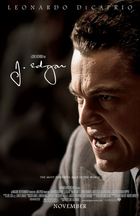 #502/#53 J. Edgar A biopic covering the life of J Edgar Hoover (Leonardo DiCaprio), the creation of the FBI and Hoover's fanatical drive to hunt down communists and criminals. This one's a little difficult to rate because it has a number of elements working for it but almost as many working against it. On the one hand it's got a good cast all giving strong performances (with Armie Hammer, Noami Watts and DiCaprio himself doing particularly well), an interesting look at the man behind the FBI (which seems to be fairly unbiased in its portrayal) and some really good costumes/sets/locations/props making it feel like you're back in whichever decade the story was in at that present moment. On the other hand, instead of focusing on the pertinent points of Hoover's life you kinda get all of it and are expected to gleam from it what you will. You would expect the film to narrow in on the historically salient aspects when they arise but those get about as much discussion as the seemingly inconsequential. The result, for me personally at least, was that the movie lacked purpose other than this guy lived in this time period and did a whole bunch of things. I suppose this is true of most biopics, but for whatever reason it just felt meandering in this one. The rapid transitions between the past and the present were also rather jarring. Some (like the elevator sequence) work well but a lot of them didn't give the audience any sort of cue we were now switching and it took a couple of seconds to acclimate. Not a huge thing but it happened often enough to become annoying. Additionally, the make-up was pretty terrible as well. That's not something I really pay attention to normally but it was bad enough that it looked like Hammer was melting whilst in his old man get up. DiCaprio didn't fair much better but at least his wasn't distracting from the story. The strong performances keep it at least interesting for the most part but the rambling and unfocused nature of the story made the runtime feel about a 1/2 hour longer than it is. Unless you're a fan of the actors or really interested in Hoover's entire life I'd skip this one. 2/5