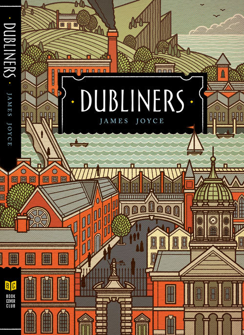 carnetimaginaire:  Philip Cheaney (cover art), Dubliners allthingslibrary:  My all-time favorite collection of short stories—The Dubliners by James Joyce.