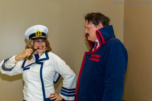 I'm the Captain now.Photo by Masamune Photography http://www.facebook.com/pages/Masamune-Photography/529242550424892 @ Ushicon 8 2013