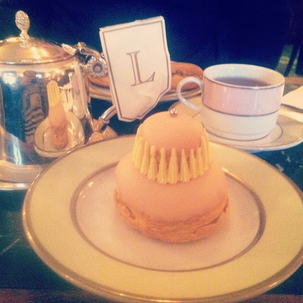 Lunch at #Ladurèe #nom (at Ladurée)
