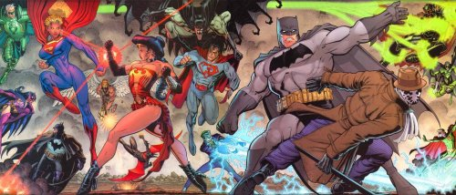Countdown by Art Adams  Wow. Love this epic confrontation!