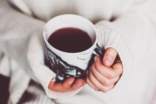 tea coffee cup hands
