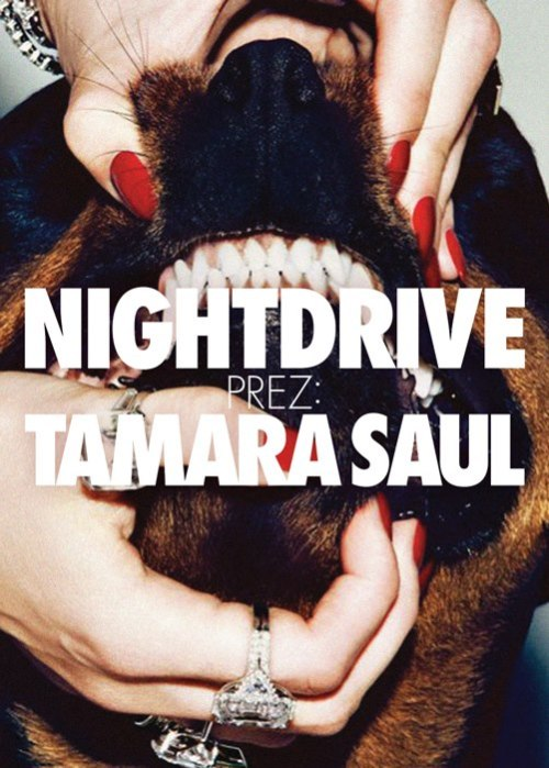 *APRIL.5.FRIDAY.TOLDINIGHTDRI▽E prez: TAMARA SAUL/HR(TRUEFLAV REC)* see you guys in Budapest! i can't wait! <3  join the event on facebook & get all info there!  mwah*