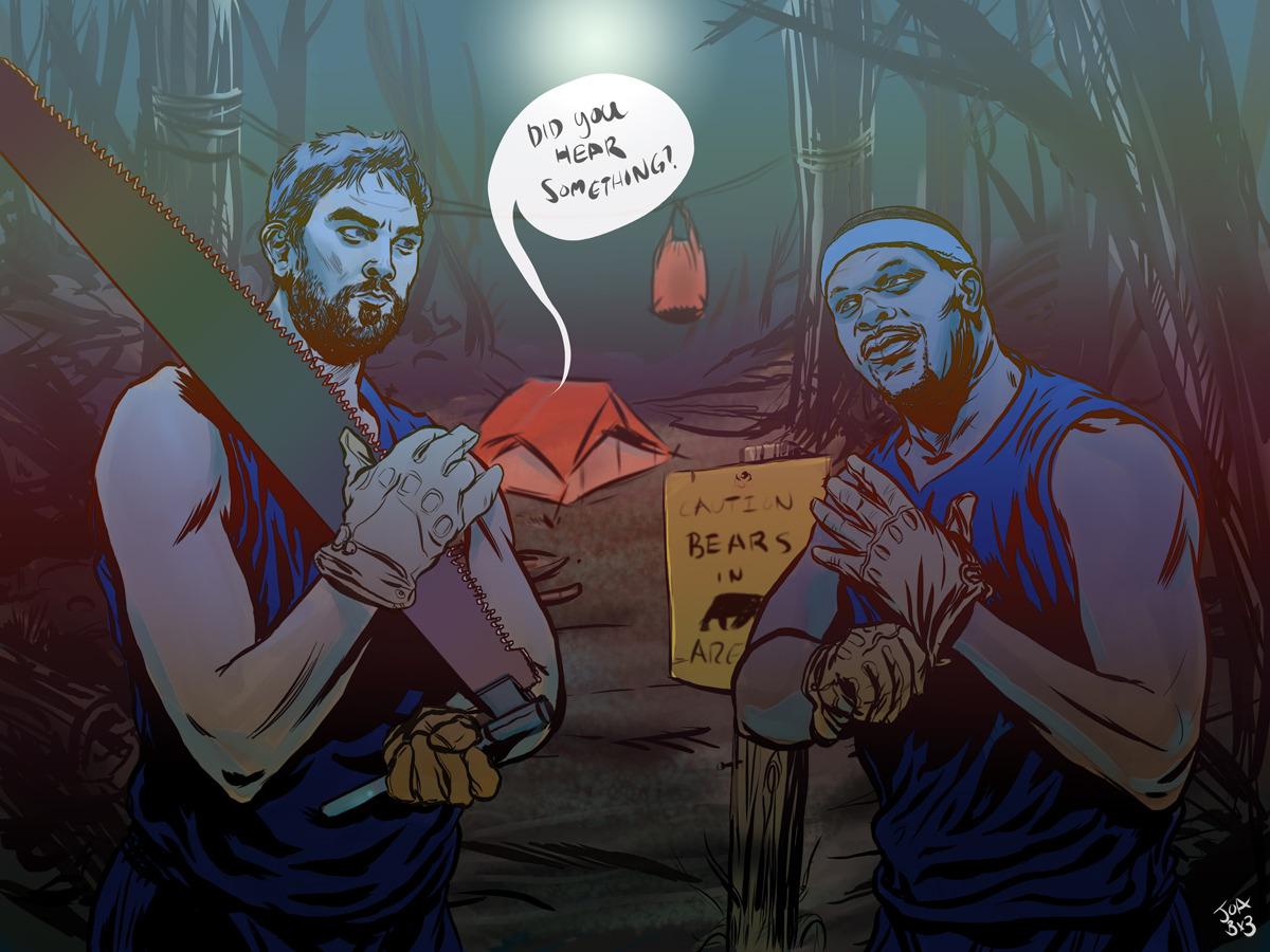New Playoff illustration. Grizzlies gonna' eat.
